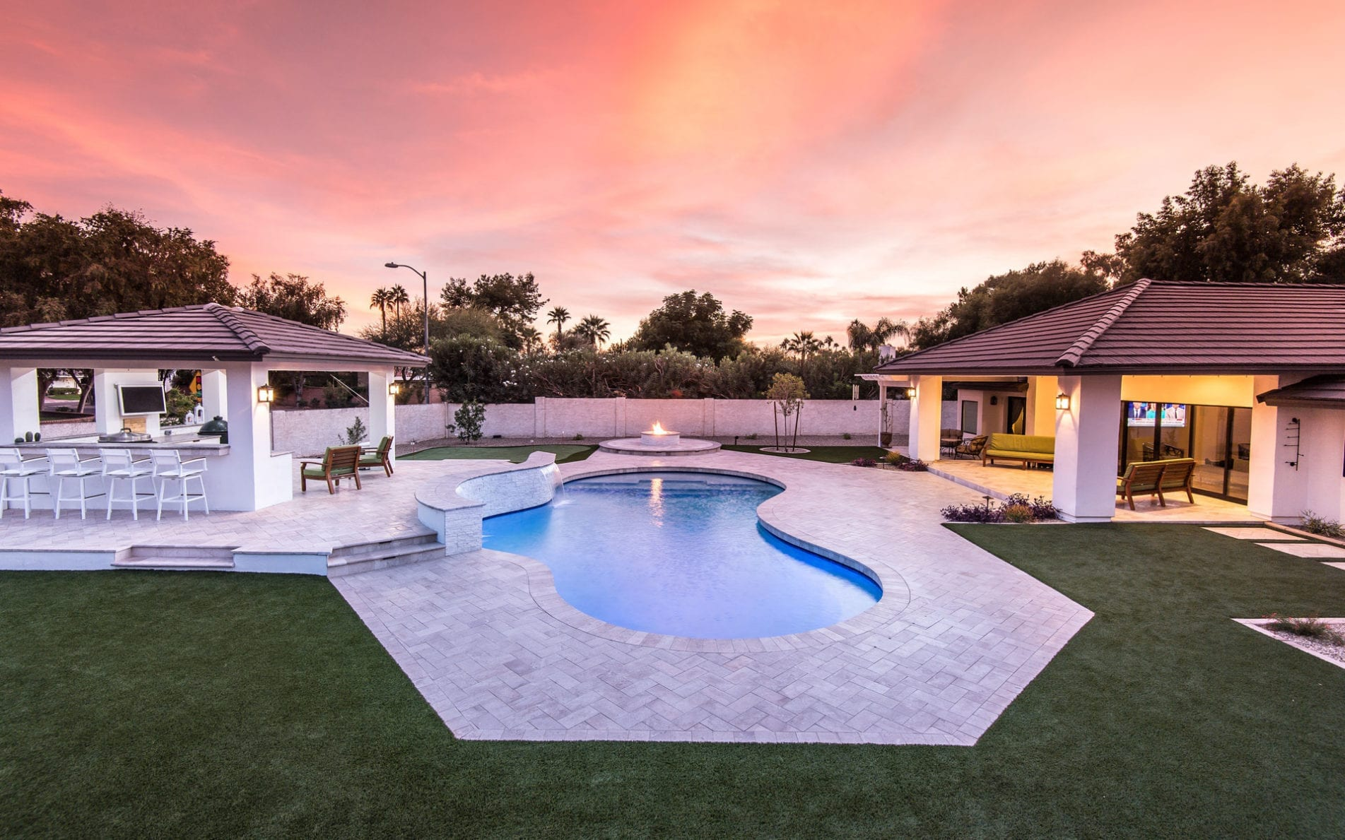 California Pools & Landscape featured in House 2 Home Magazine