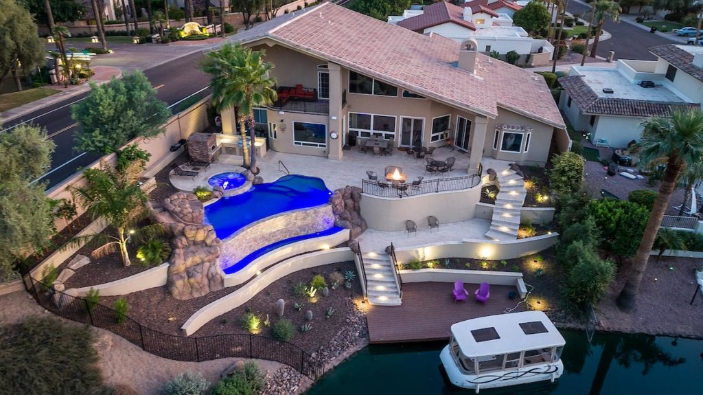 Drone View of Ultimate Backyards from $200,000 and Up