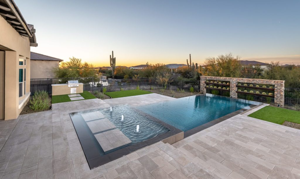 Landscape View of Ultimate Backyards from $200,000 and Up