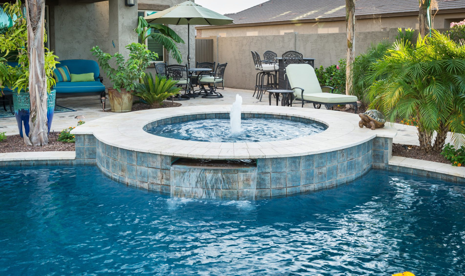 Hot Tub Water Feature