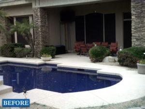 Swimming Pool Remodel Before