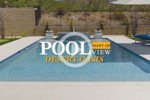 Pool Point Of View - Desert Oasis