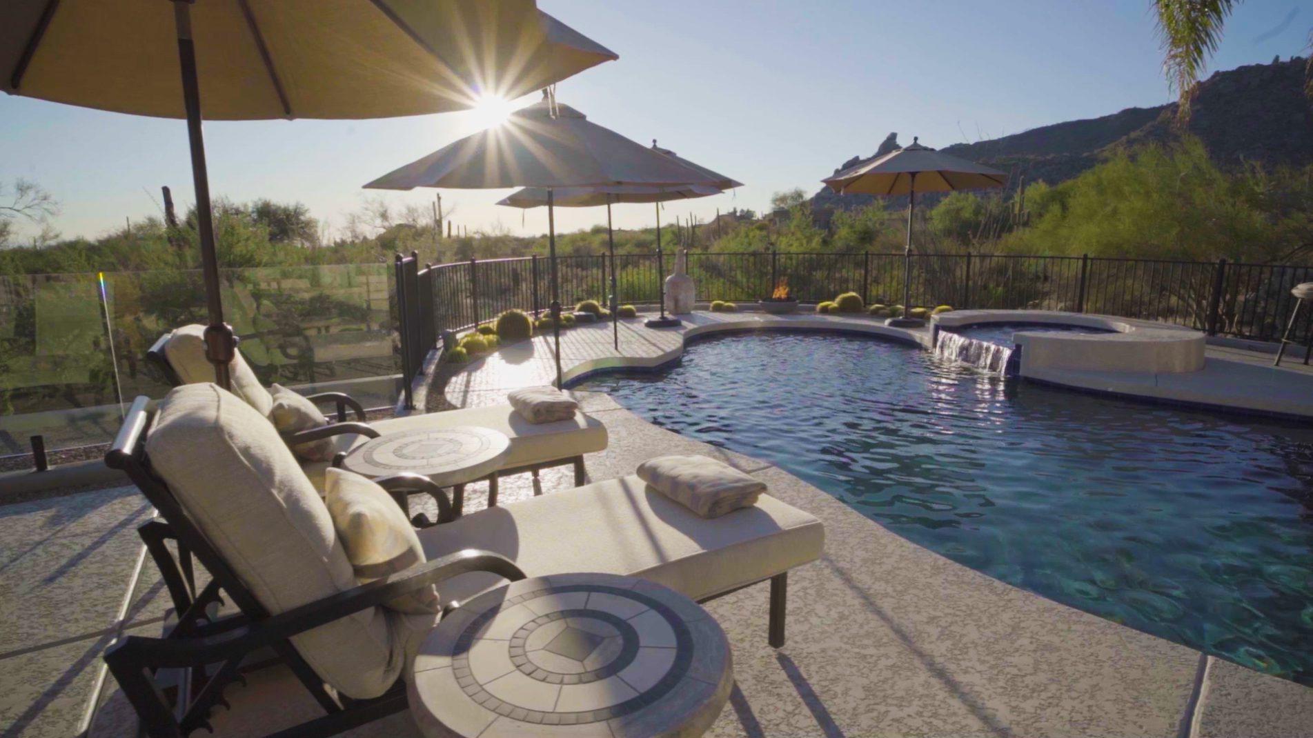 The Multops Pool Desert View