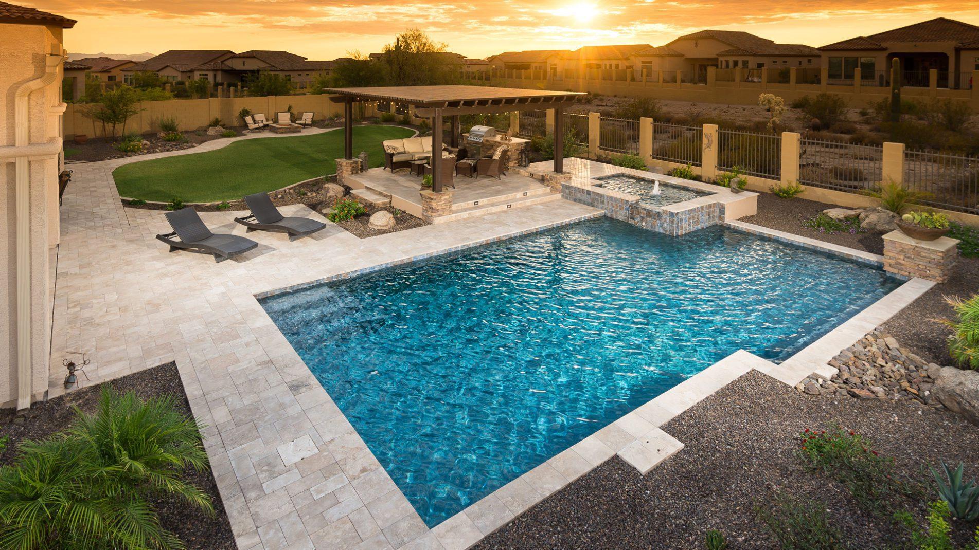 Squared Geometric Pool