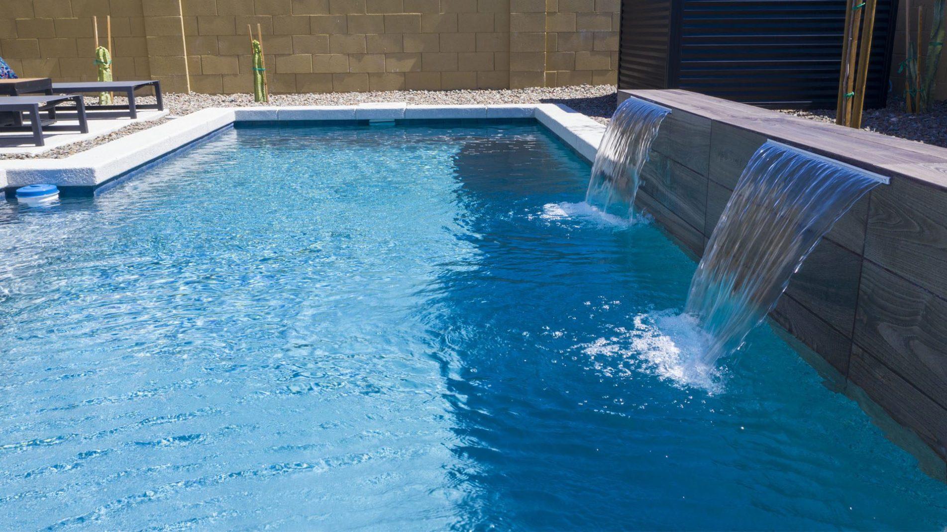 Pyramid Peak Pool Water Features