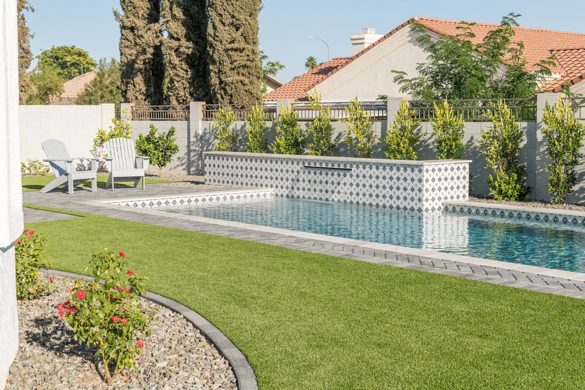 Best Waterline Tile For Your Pool Side View
