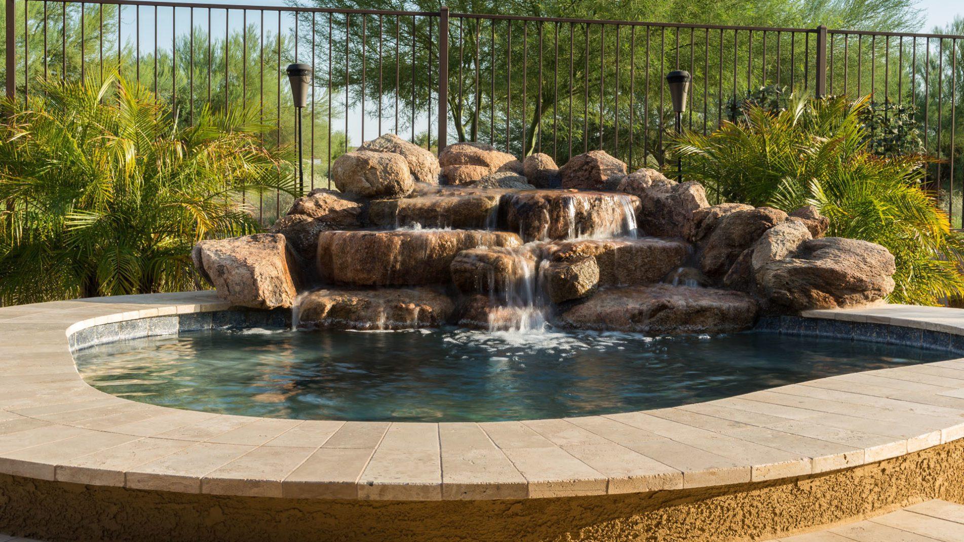 Small Backyard Pool Design Ideas: Queen Creek Ace