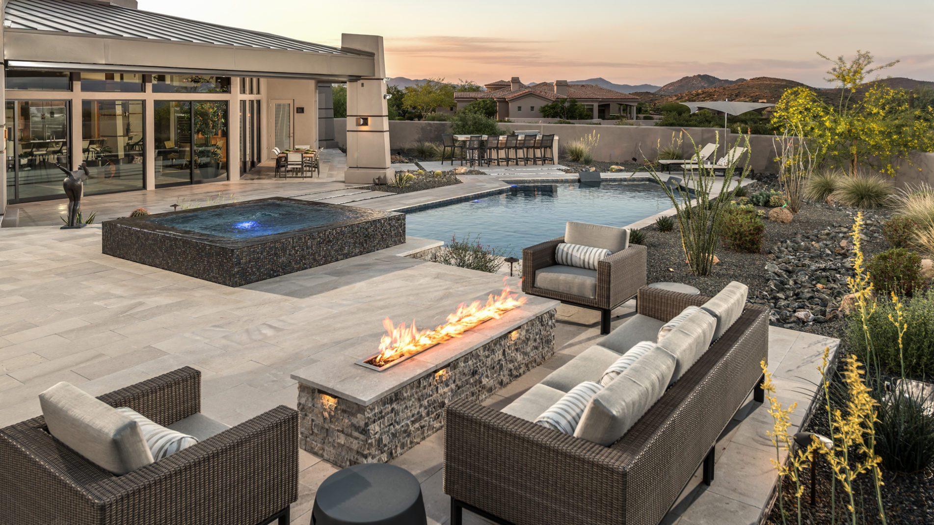 High End Ultimate Backyard and Swimming Pool