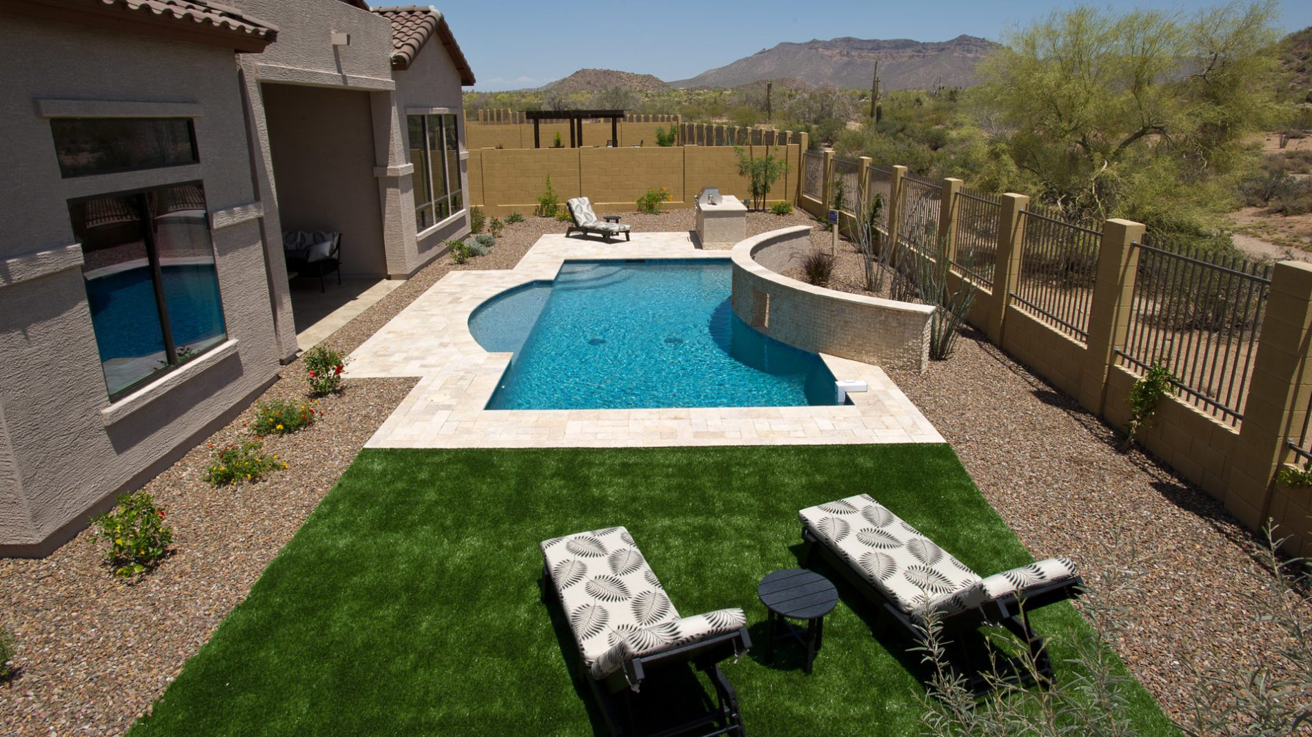 Grecian Gem Swimming Pool In Mesa Full View