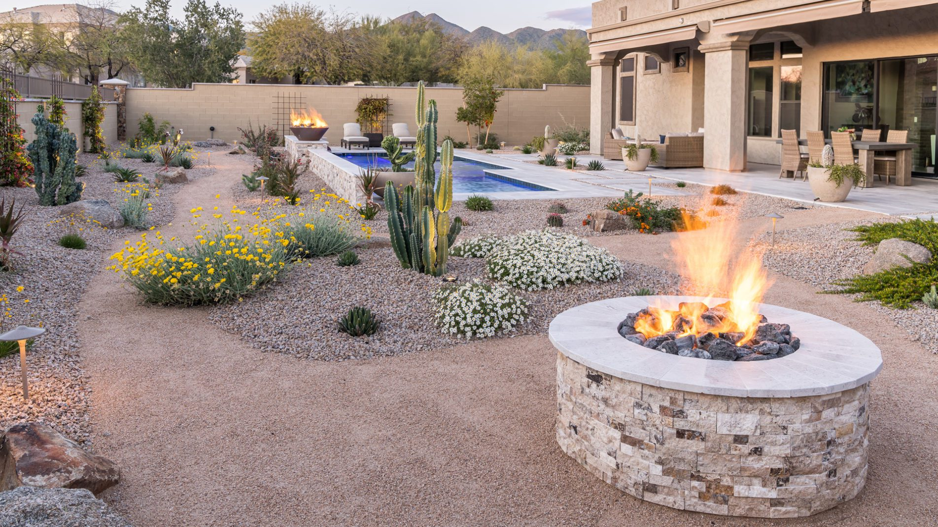 Scottsdale Botanical Garden Fire Pit