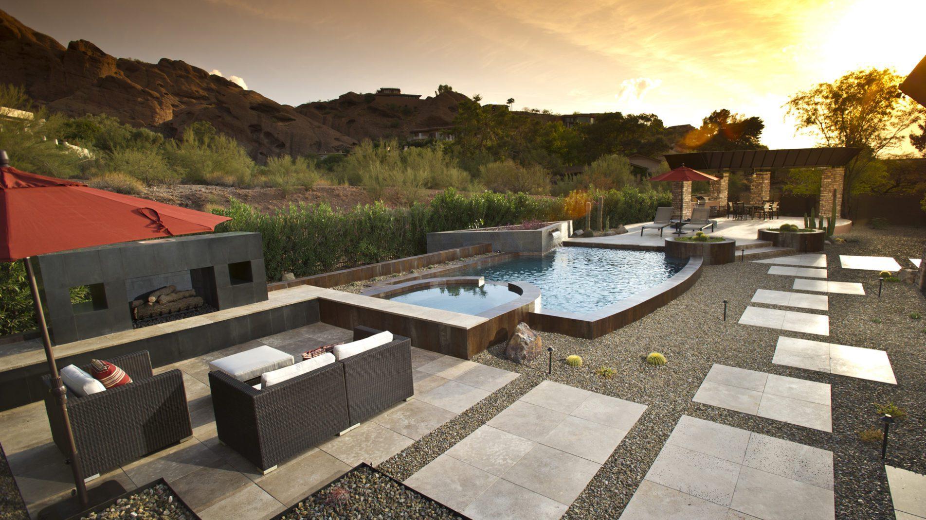 Camelback, Concrete & Copper